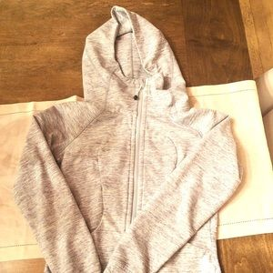 Like new lululemon zip-up Scuba Hoodie